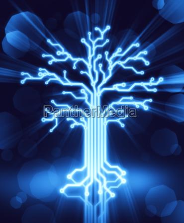 blue shine shines bright lucent light