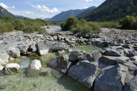 at the upper isar at the
