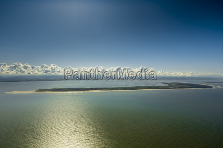 aerial perspective horizon national park sights