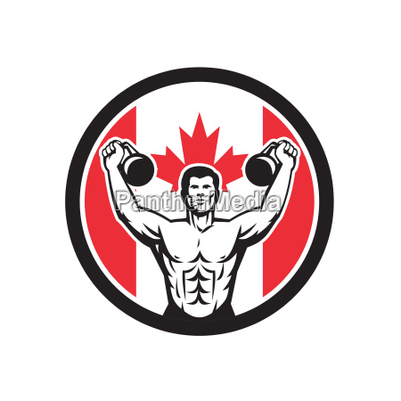 canadian physical fitness canada flag icon
