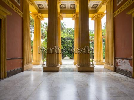 hall culture room halls columns sights