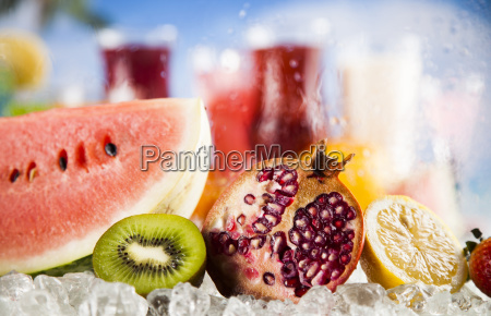 summer, drink, , palm, branch, and, fresh - 25206754