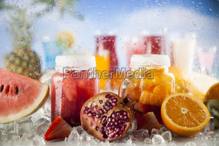 summer, drink, , palm, branch, and, fresh - 25206910