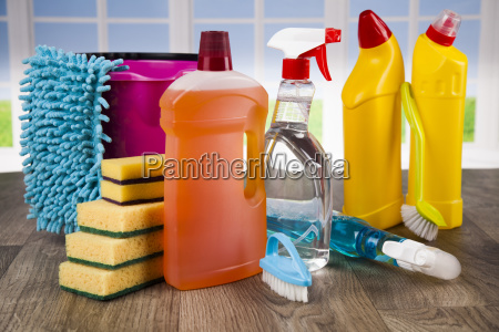 cleaning, products., home, concept, and, window - 25207290