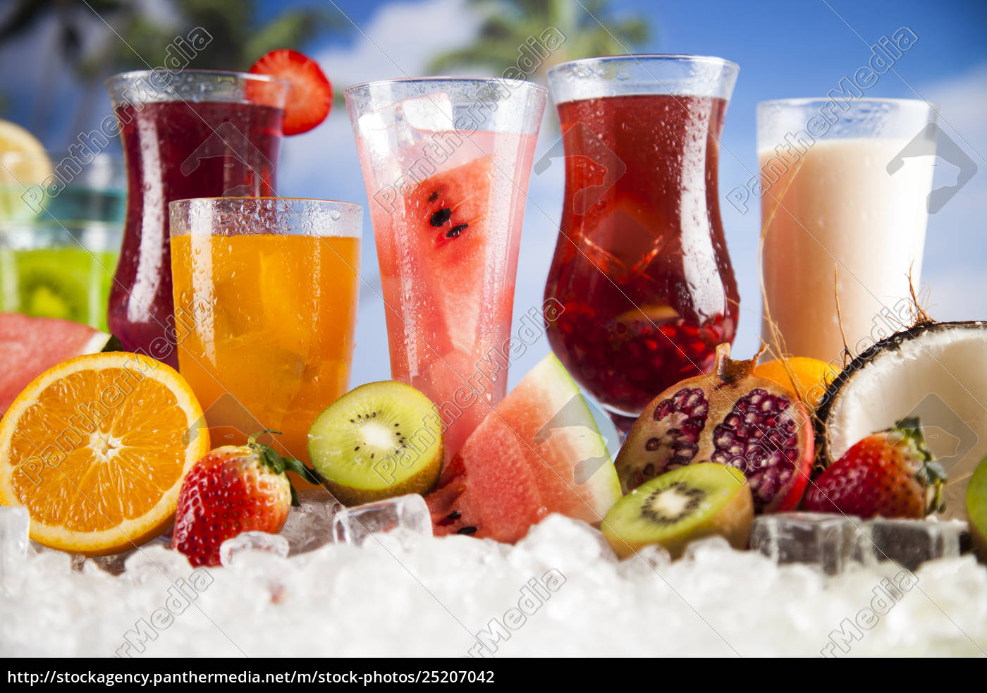 exotic, summer, drinks - 25207042