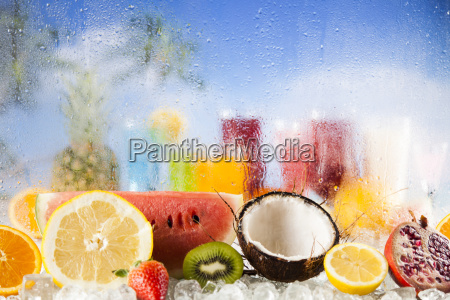 exotic, summer, drinks - 25210258