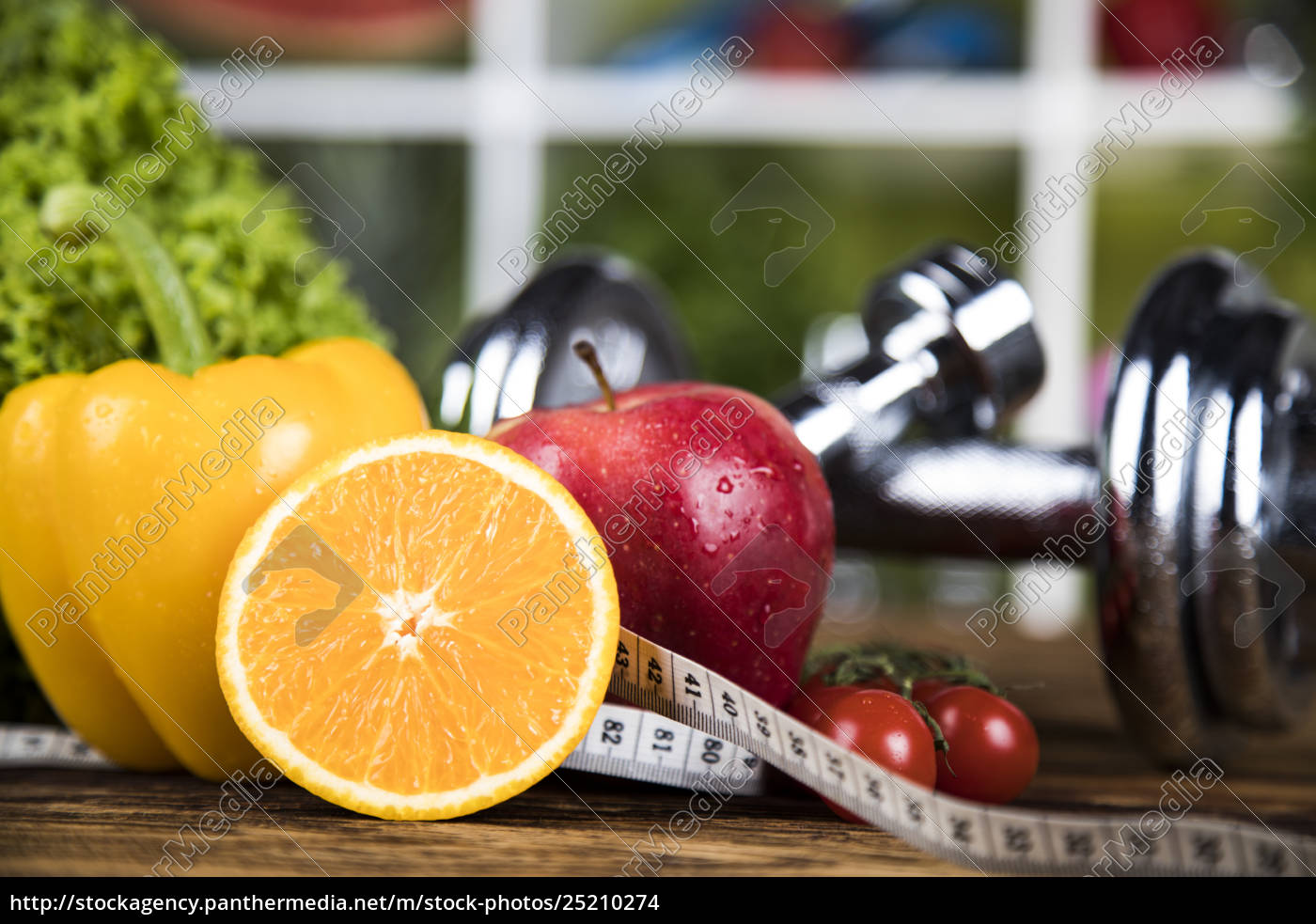 fresh, food, and, measure, tape, sport, diet - 25210274