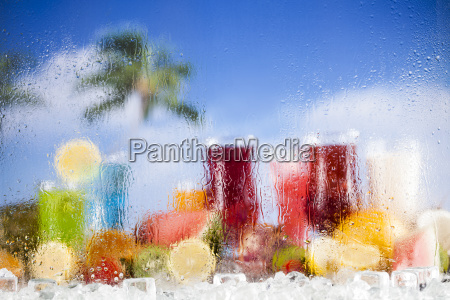 summer, drink, , palm, branch, and, fresh - 25210930