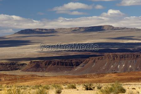 bucolic desert wasteland national park africa