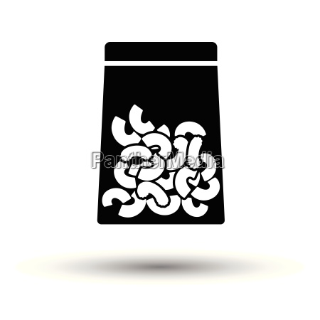 macaroni, package, icon - 25216720