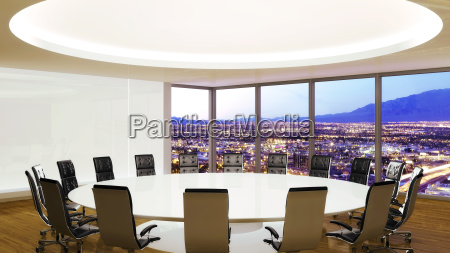 conference room city town furniture graphics