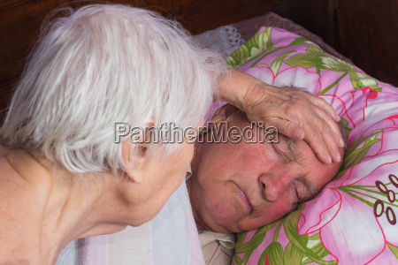 elderly 80 plus year old man