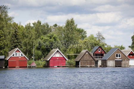 boat shed on the binnenmueritz roebel