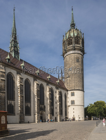 protestant castle church also church of