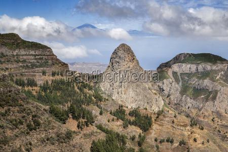 roque de agando 1251m southwest side