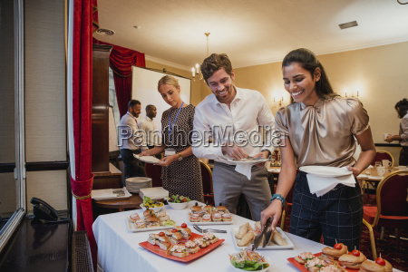 business, conference, lunch, break - 25265166