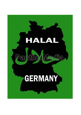 halal zertifizierung fur islamisch reines fleisch