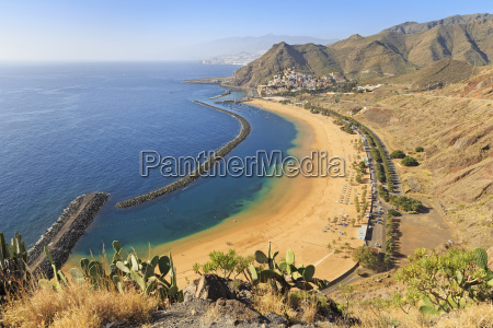 playa de las teresitas with the