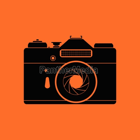 icon of retro film photo camera