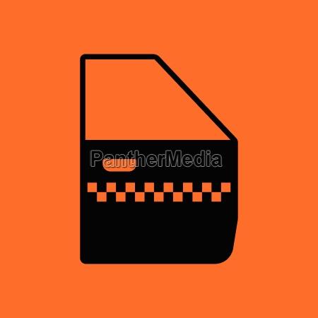 taxi side door icon