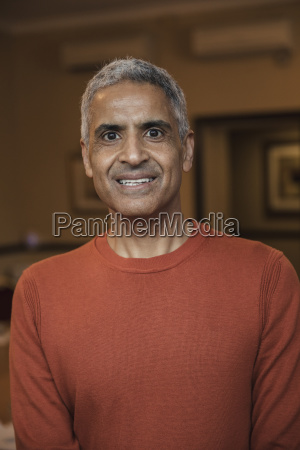 headshot of a mature male adult