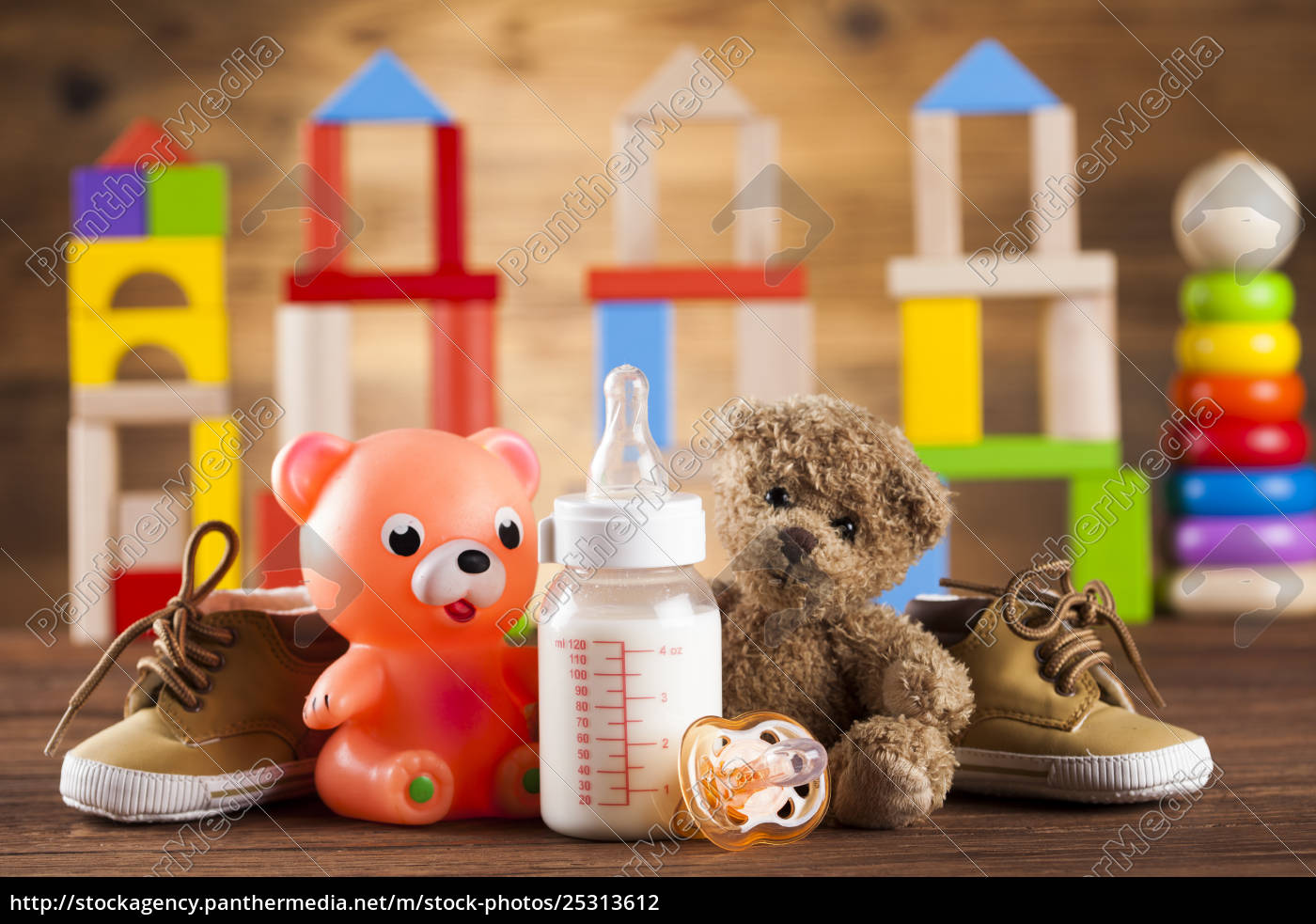 colorful, alphabet, blocks, , baby, toy - 25313612