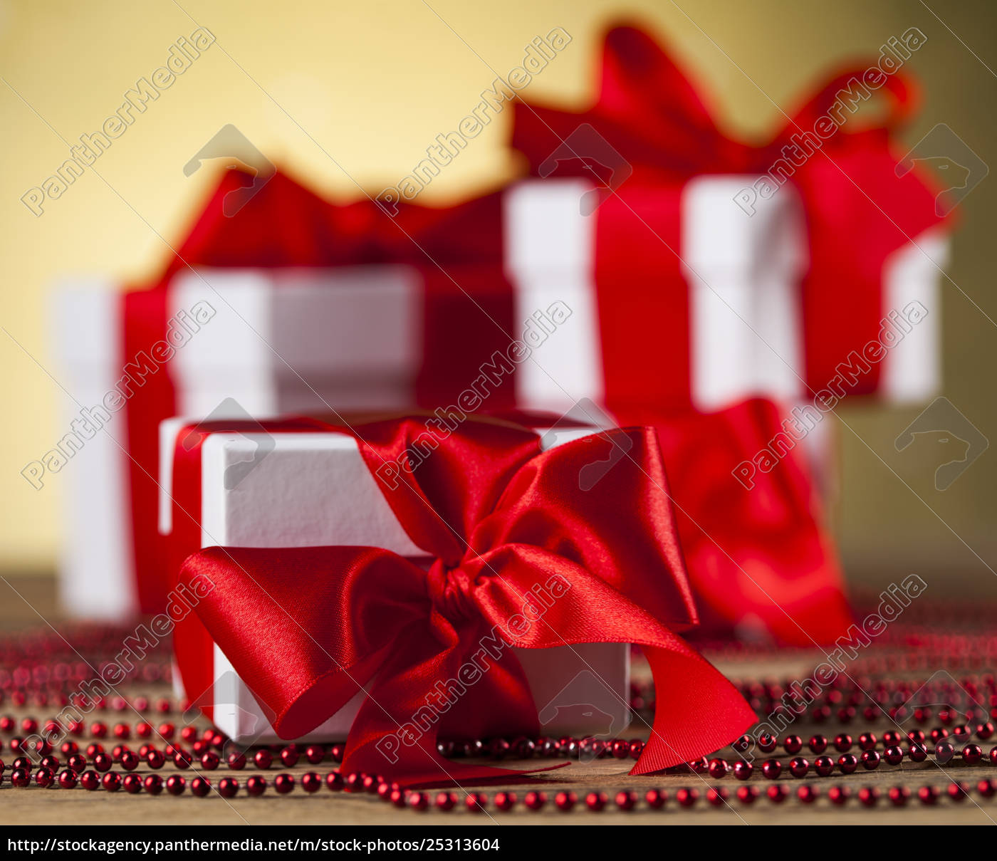 holiday, christmas, background, with, stack, of - 25313604