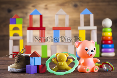 baby, world, toy, collection, on, on - 25314740
