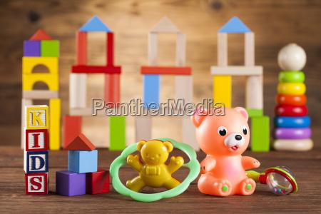 colorful, alphabet, blocks, , baby, toy - 25314568