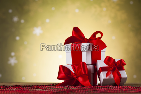 holiday, christmas, background, with, stack, of - 25314734