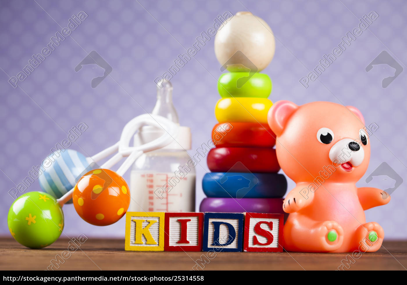kids, world, toy, on, a, wooden - 25314558