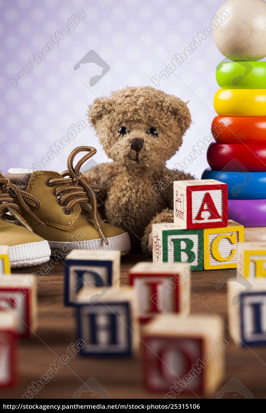 colorful, alphabet, blocks, , baby, toy - 25315106