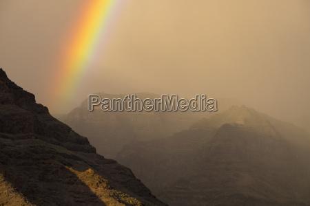 rainbow valle gran rey la gomera
