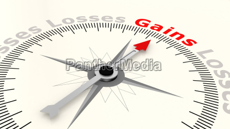 compass with arrow pointing to the