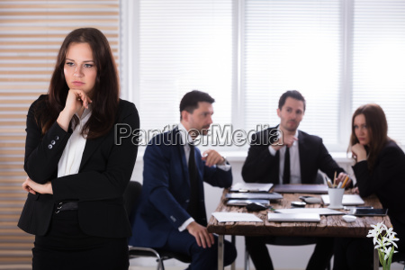 portrait, of, a, sad, businesswoman - 25336030