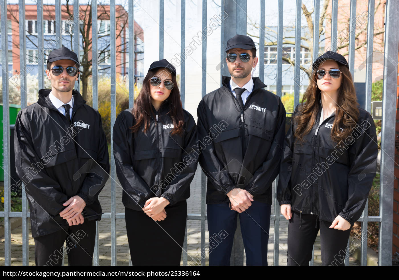 portrait, of, young, security, guards - 25336164
