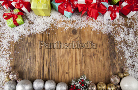 merry, christmas, frame, , gift, box, with - 25337410
