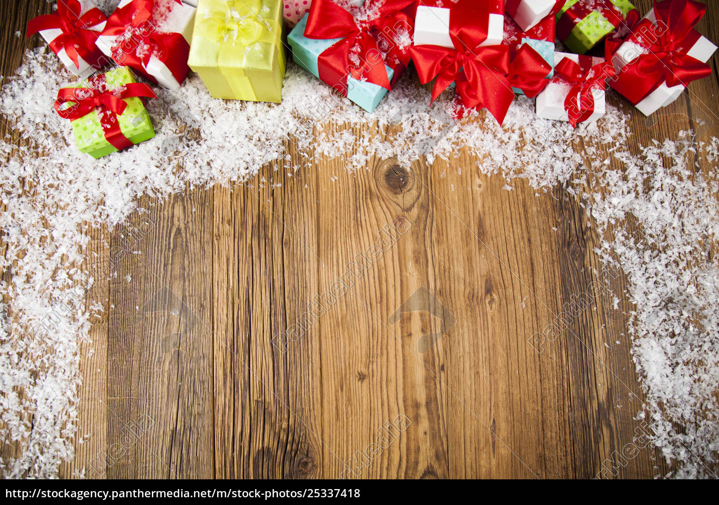merry, christmas, frame, , gift, box, with - 25337418