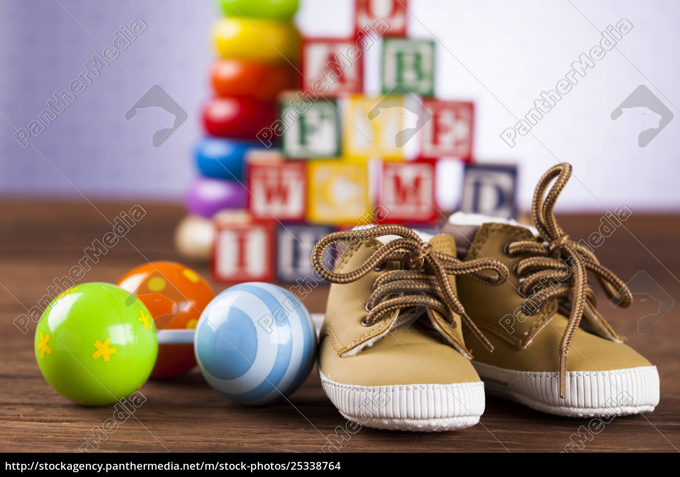 colorful, alphabet, blocks, , baby, toy - 25338764