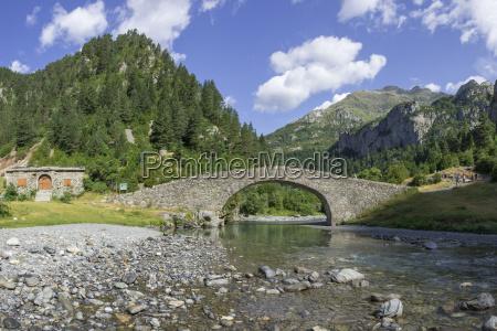 historical bucolic national park bridge europe