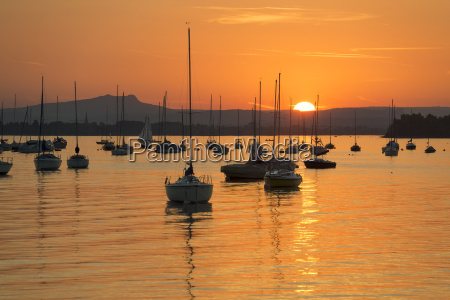 bucolic sunset europe mood evening evening