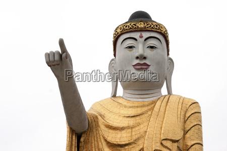 indicate show finger religion culture asia