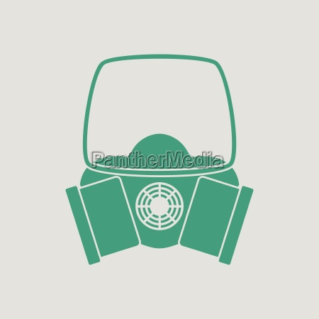 icon of chemistry gas mask