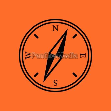 compass, icon - 25394930
