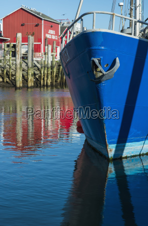 bold colour abounds at the port