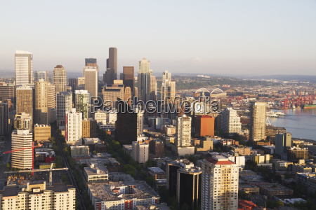 panoramic view of seattle from the