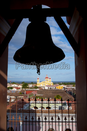 bell at iglesia la merced with