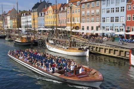 nyhavn canal copenhagen denmark tour boat