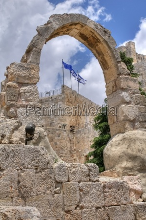 tower of david museum jerusalem israel