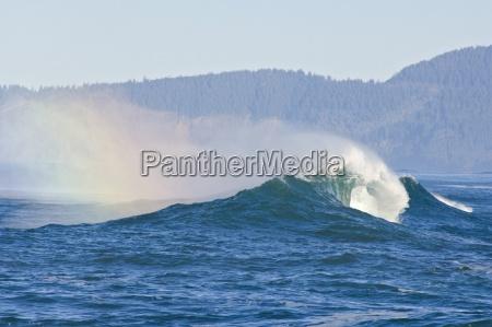 waves at cape kiwanda pacific city